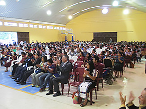 Mexican conference proclaimer
