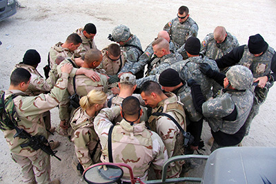 Encouraging Those Who Serve