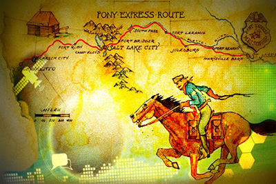 DTNs: The 21st Century Pony Express