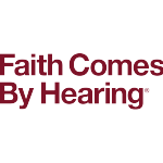 Faith Comes By Hearing Logo (red, two-line)