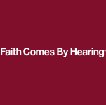 Faith Comes By Hearing Logo (white)