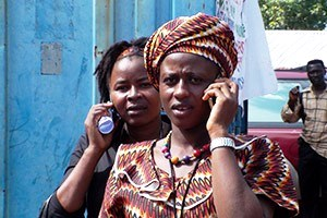 Mobile Phone Use - Sierra Leone, Africa