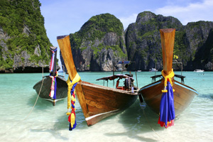 Scenery, Shore Boats - Asia/Pacific