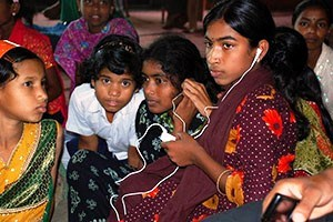 Audio Bible Listening, Children - South Asia